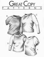 Great Copy Patterns Raglan Tops