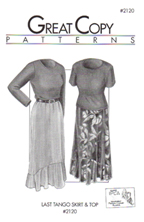 Great Copy Patterns: Last Tango Skirt & Top