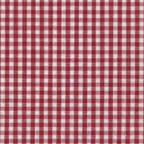 Cotton Lightweight: red and white gingham