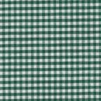 Cotton Lightweight: green and white gingham