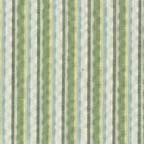 Cotton Lightweight: green striped seersucker