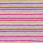 cotton polyester stripe knit pink fuschis aqua green white