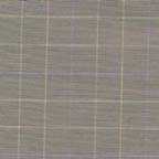 Cotton shirtings:stretch windowpane taupe shirting