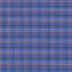 Cotton shirtings: stretch shirting in blue plaid