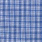 Cotton shirtings: stretch shirting in blue & white
