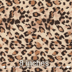 Knits, other: brown cheetah on tan