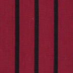 Knits, other: black stripes on red