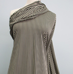 Knits, other: black & cream vertical stripes