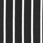 Knits, other: white stripes on black
